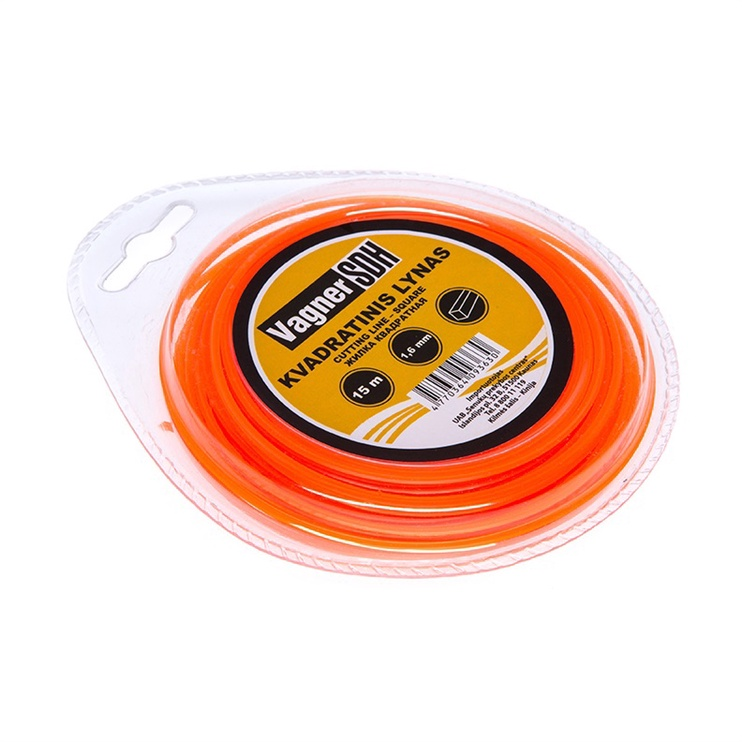 Vagner Trimmer Line 1.6mm 15m Quad Orange