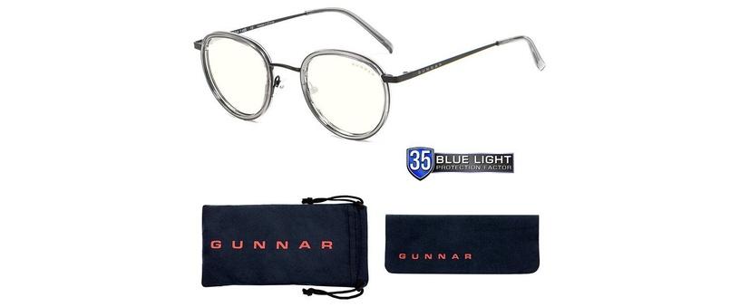 Kaitseprillid Gunnar Atherton Computer Glasses Clear Onyx