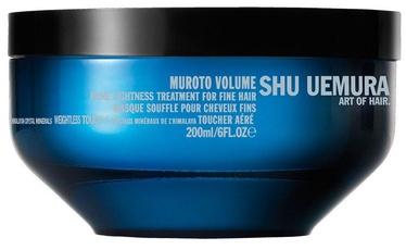 Kaukė plaukams Shu Uemura Muroto Volume Mask, 200 ml