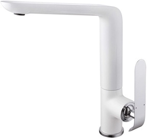 Vento Tivoli Kitchen Faucet White/Chrome