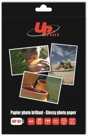 Fotopaber GenerInk Photo Paper UPrint UP-07 A4 180 Glossy 20 Pages
