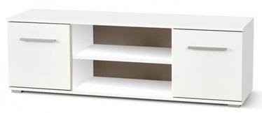 TV galds Halmar Lima RTV1, balta, 400 mm x 1370 mm x 440 mm
