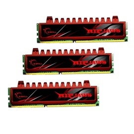 G.SKILL RipJaws 12GB 1600MHz DDR3 CL19 Kit Of 3 F3-12800CL9T-12GBRL