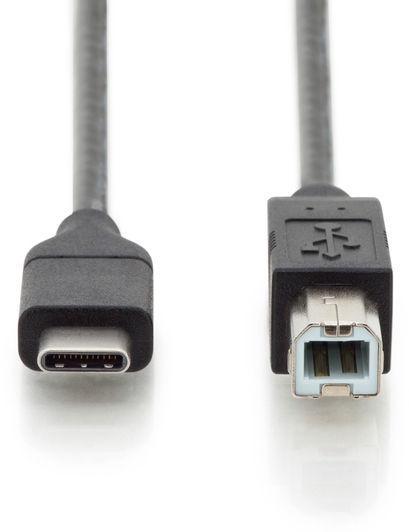 Digitus USB Type-C to USB Type-B Cable 1.8m