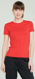 Audimas Womens Functional Tee Red L