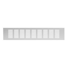 Ventilācijas reste Europlast 80x400mm, sudraba krāsā