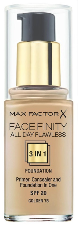 Max Factor Face Finity All Day Flawless 3in1 Foundation 30ml 75