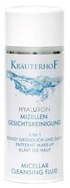 Makiažo valiklis Krauterhof Hyaluron Micellar Cleansing Fluid 3 In 1, 200 ml