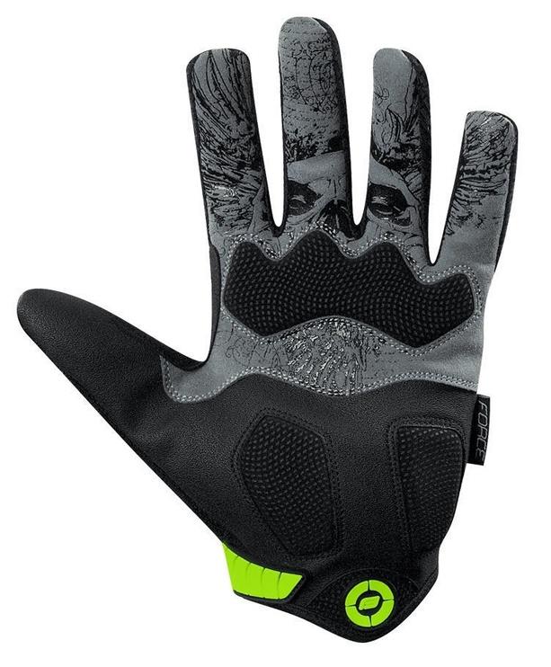 Kindad Force MTB Autonomy 17 Full Gloves Blue/Black XS