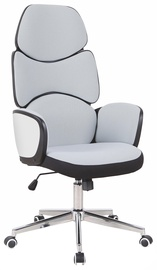 Halmar Office Chair Baron Black/White/Light Grey