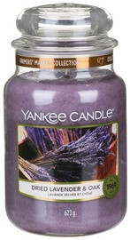Yankee Candle Classic Large Jar Dried Lavander & Oak 623g
