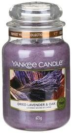 Ароматическая свеча Yankee Candle Classic Large Jar Dried Lavander & Oak, 623 г