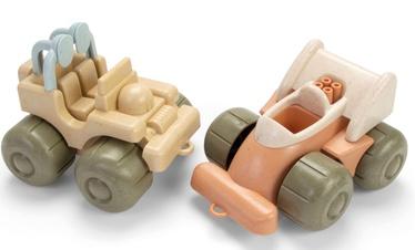 Dantoy BioPlastic Vehicles 2pcs