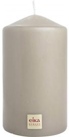 Eika Pillar Candle 14x8cm Sand