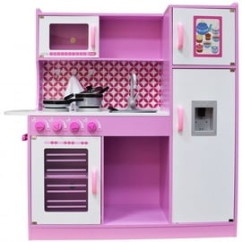 4IQ Nikola Candy Wooden Kitchen Pink