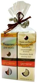 DNC Gift Set For Hair Beauty Gemene Hair Keratin 30ml + Nicotinic Acid Shining Hair 30ml
