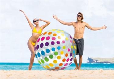 Milžiniškas paplūdimio kamuolys Intex Giant 58097NP, Ø183 cm