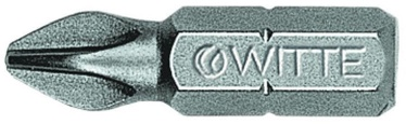 "Witte Screwdriver Bit 1/4""x25mm PH1"