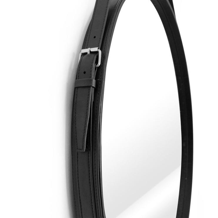 Peegel Homede Esha Black, riputatav, 60x60 cm