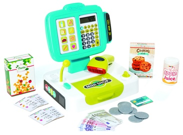 Smoby Mini Shop Electronic Cash Register Green 350104S