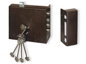 Pridedamoji spyna Border ZN4-8K, 5 raktai