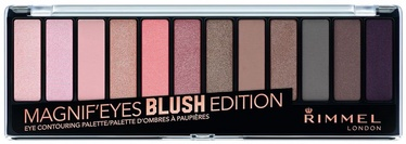 Acu ēnas Rimmel London Magnif'Eyes Eye Contouring Palette Blush Edition, 14 g