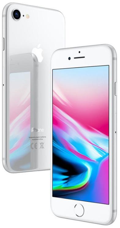 MOBILUS TELEFONAS IPHONE 8 64GB SILVER (APPLE)