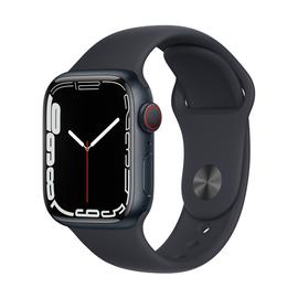 Умные часы Apple Watch Series 7 GPS + LTE 41mm Aluminum, серый