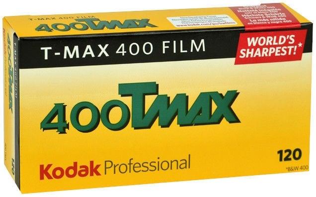 Kodak Professional T-Max 400 Black & White Negative Film 120x5pcs