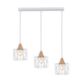 Domoletti Vanila MD51164A-3 Ceiling Lamp 3x40W E27 White