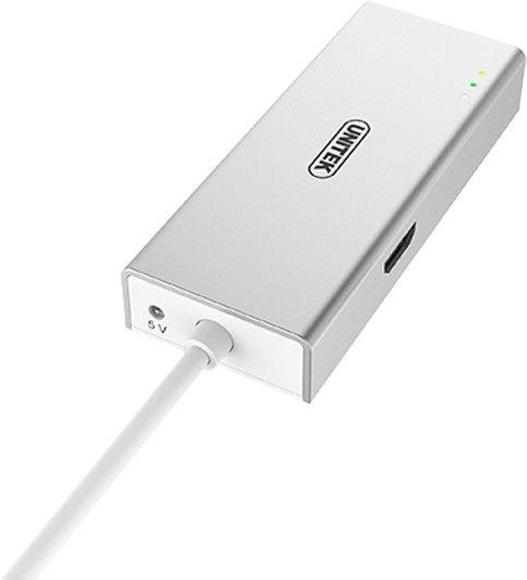 Unitek USB3.1 Type-C Aluminium Multi-Port Hub