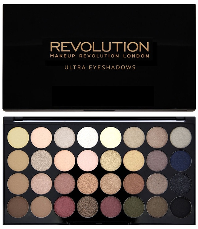 Akių šešėliai Makeup Revolution London Ultra 32 Shade Flawless, 16 g