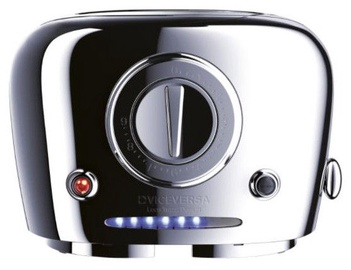 ViceVersa Tix Pop-Up Toaster Chrome 50081