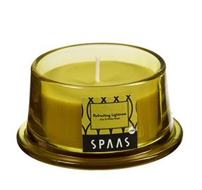 Ароматическая свеча Spaas Kiwi&White Musk, 15 h