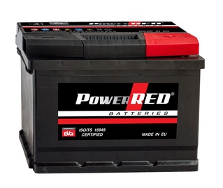 Akumuliatorius Power Red LB1, 44 Ah, 360 A, 12 V