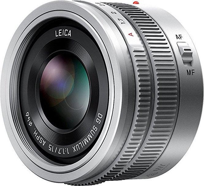 Panasonic Leica DG 15mm f/1.7 Summilux ASPH Silver