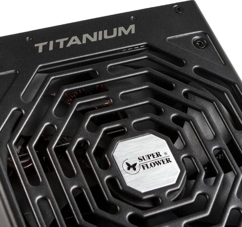 Super Flower Leadex 80 Plus Titanium 850W Black