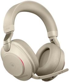 Belaidės ausinės Jabra Evolve2 85 Link380a MS Stereo Beige