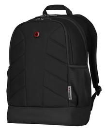 """Wenger Quadma 16"""" Laptop Backpack Black"""