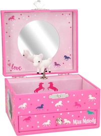 Depesche Miss Melody Jewelry Case With Music Pink