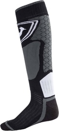 Rossignol Ski Socks L3 Wool & Silk Black L