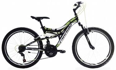 "Jalgratas Capriolo CTX 240 24"" Black Green"
