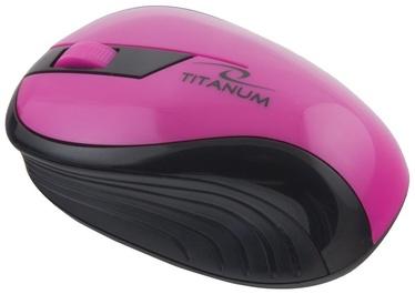 Esperanza Titanum Rainbow TM114 Mouse Black/Pink