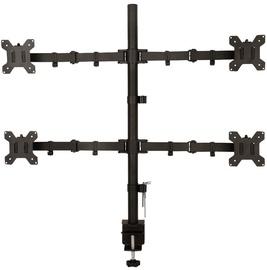 Televizoriaus laikiklis ART Holder For 4 LED/LCD Monitors 13-27'' Black