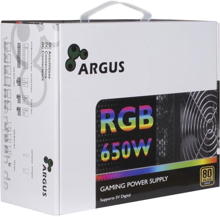 Inter-Tech Argus RGB CM II PSU 650W