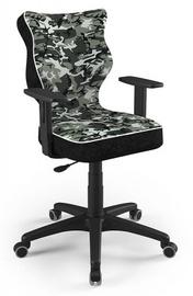 Детский стул Entelo Duo ST33 Size 6, черный/зеленый, 425 мм x 915 - 1045 мм