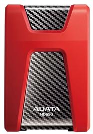 """A-Data 2.5"""" DashDrive Durable HD650 1TB Red"""