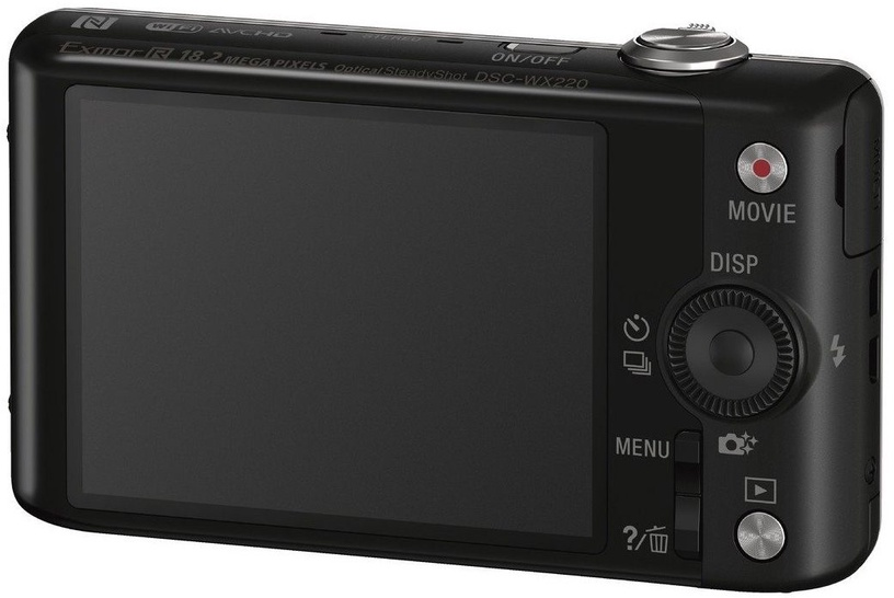 Sony Cyber-Shot DSC-WX220 Black