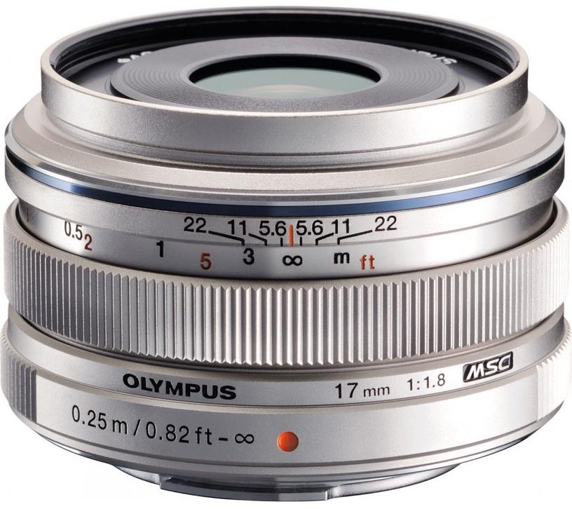 Olympus 17mm F1.8 M.Zuiko Digital Silver