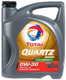 Total Quartz 9000 0W30 Motor Oil 5l